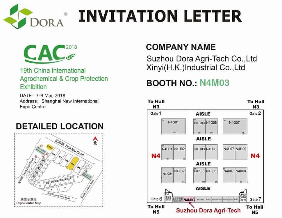 2018 CAC EXhibition Invitation Letter