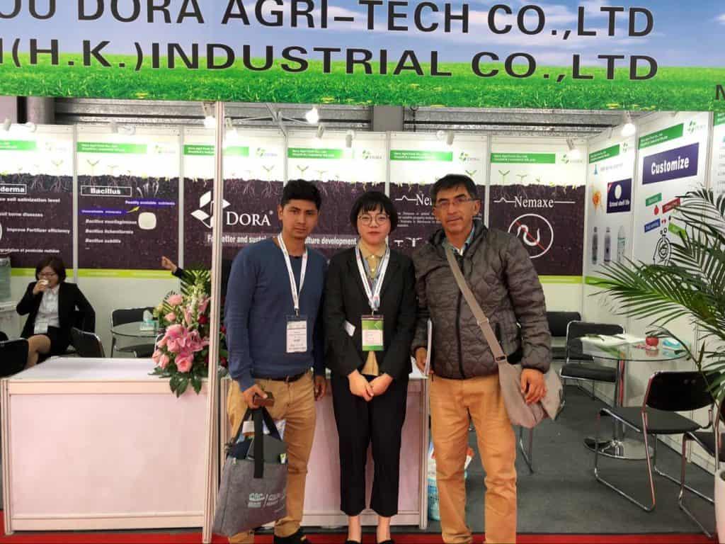 2018 CAC Exhibition meet customer