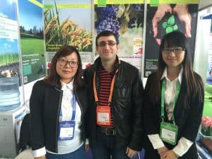 2015 Agrochemex Shanghai Jill
