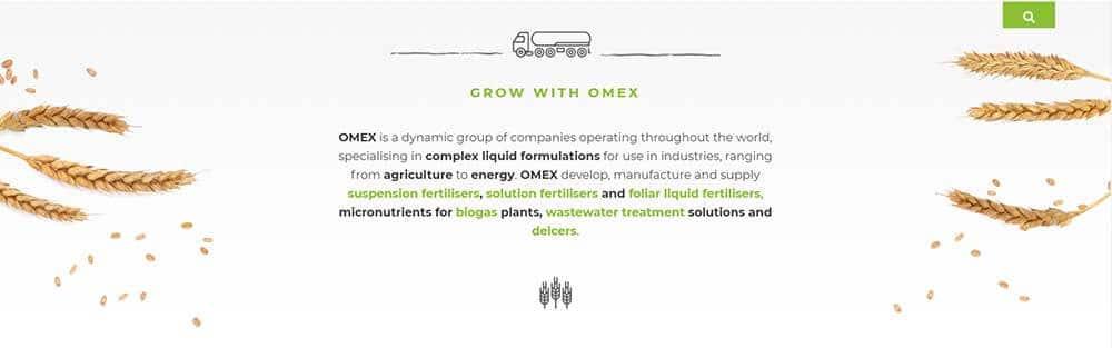 Omex Biostimulant conpanies