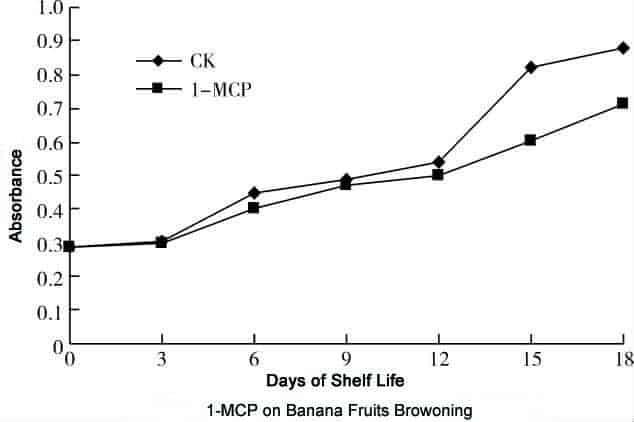 1-MCP on Banana Fruits Browning