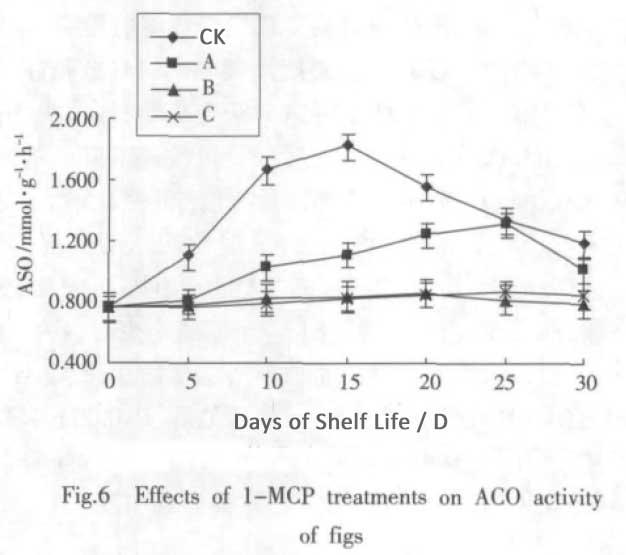 1-MCP on figs ACO activity